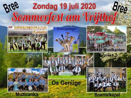 Sommerfest am Vrijthof
